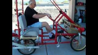 getlinkyoutube.com-American Speedster PVC 4 wheel bicycle.MOV