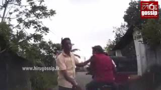wrong behavior of the drunken motorbike riders