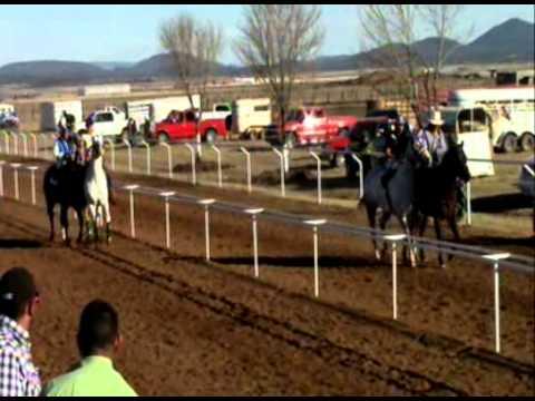 carreras de caballos en ciudad madera el bandido vs la lluvia