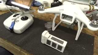 getlinkyoutube.com-DJI Phantom 3 & Phantom 4 Battery Information & Maintenance