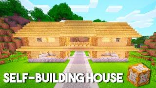 SELF-BUILDING Command Block House