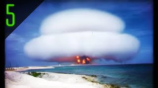5 Declassified Nuclear Explosions Caught on Film