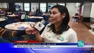 Yady Galano explica como la organización New Horizons ayuda a niños y adolescentes