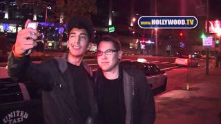 chanel-: Bryan Singer dines at BOA Steakhouse