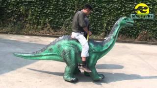 getlinkyoutube.com-Simulation can ride dinosaurs, dinosaur can walk machinery