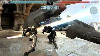 getlinkyoutube.com-Defeating Ryth level 18000 Infinity Blade 2