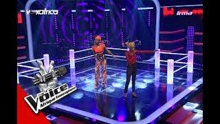 Irma vs Elody ' Loliwe ' de ZaharaSA Les Battles   The Voice Afrique francophone 2017
