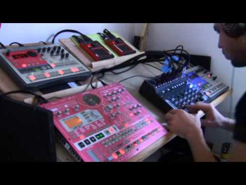 korg electribe esx-1 / ea-1 / er-1. intergalactique remix