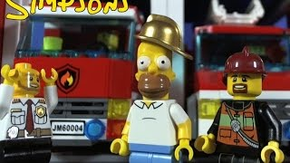 getlinkyoutube.com-LEGO SIMPSONS. HOMER'S DAY.