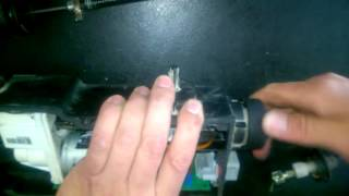 getlinkyoutube.com-Renault electronic parking brake cable repair