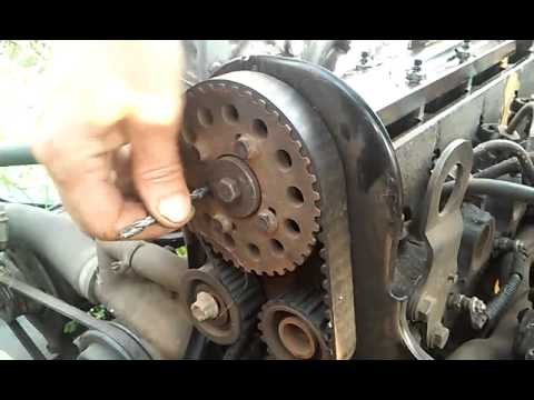 Расположение меток ГРМ Ford 1.8 D TD TDI