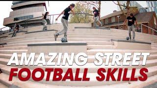 Amazing Street Football Skills - Easy Man Skills part 3