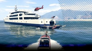 getlinkyoutube.com-[GTA V: Heist] Coke stelen van het jacht - Series A - Ep1 (GTA5)