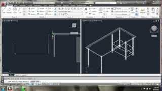 getlinkyoutube.com-AutoCAD 2013 - 3D Modeling Basics - Desk - Brooke Godfrey
