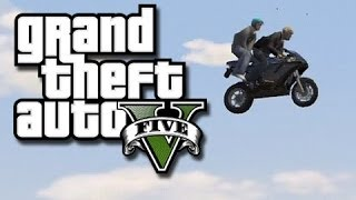 getlinkyoutube.com-GTA 5 Online Funny Gameplay Moments! #13 (Shadow's Large Thing and Fence-Car Glitch!)