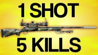 getlinkyoutube.com-1 SHOT 5 KILLS - Battlefield 3