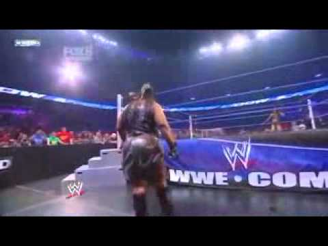 WWE Smackdown 6-5-11 Layla Vs. Alicia Fox (Kharma Attacks)