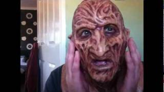 Detailed look at my Part 2 Freddy Krueger Silicone mask REVIEW