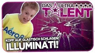 getlinkyoutube.com-JUNGE SCHLÄGT KOPF AUF GLASSTISCH + ILLUMINATEN - DAS ULTRATALENT