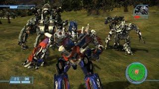 [Epic Modding] Transformers The Game: Revenge of the Fallen Forest Battle ( Optimus vs Megatron,..)