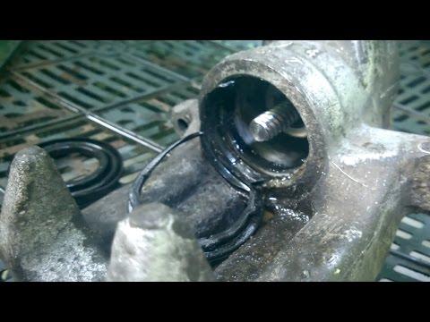 Переборка заднего суппорта Audi, VW, Skoda | Ремонт заклинившего тормозного суппорта LUCAS