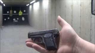 getlinkyoutube.com-FN Browning M1905 .25 ACP Vest Pocket Pistol 1906 Jeff Shoots Stuff
