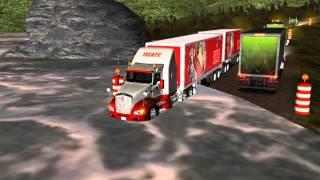 getlinkyoutube.com-Kenworth T660 / Full Cerveza Tecate / 18 WoS Haulin Trucks México 2013