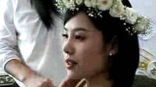 getlinkyoutube.com-Kim Hyun Joo (김현주)+ So Ji sub - Glass Slipper making wedding scene