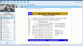 getlinkyoutube.com-20 August 2014 Image Classification Techniques & Accuracy Assessment by Ms. Minakshi Kumar