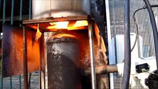 getlinkyoutube.com-Using waste oil to heat domestic hot water system
