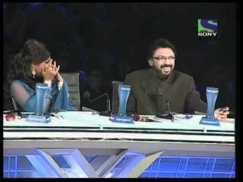 X Factor India - Sonu Nigam imitates Judge Gurus Sanjay & Shreya- X Factor India - Episode 25 - 6th Aug 2011