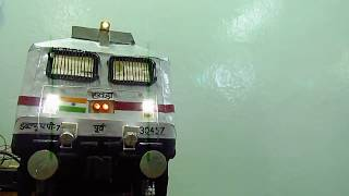 getlinkyoutube.com-WAP7 LOCOMOTIVE MODEL    INDIAN RAILWAYS