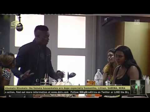Big Brother Africa - the first argument