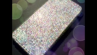 DIY gemstone encrusted iPhone case - Natalie's Creations