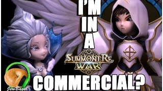 They put me in a SUMMONERS WAR commercial?