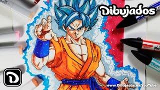getlinkyoutube.com-Goku Super Saiyan Blue - Dibujados