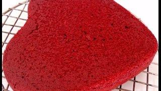 getlinkyoutube.com-Eggless Red Velvet Cake (Natural Food color and Eno Fruit Salt)