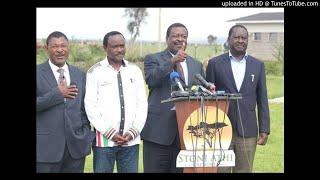 Nasa trio plan next plot after Raila shocker