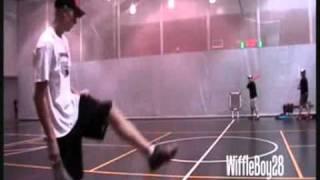 getlinkyoutube.com-ウィッフルボールの凄い変化球! fukumimi sports