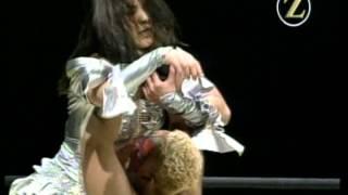 Aja Kong vs Takako Inoue