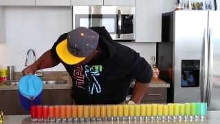 getlinkyoutube.com-31 Shot Glass Rainbow Shot Challenge - Tipsy Bartender