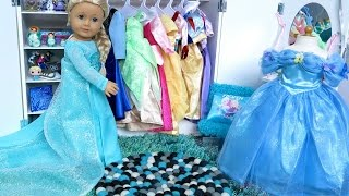 getlinkyoutube.com-Our Generation Wardrobe For American Girl Dolls!