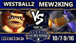 getlinkyoutube.com-TBH6 SSBM - MVG FOX | Mew2King (Sheik, Marth) Vs. G2 | Westballz (Falco, DK) - Smash Melee Top 16