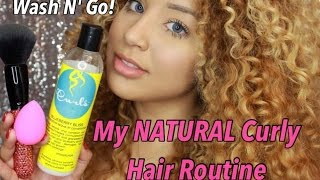 Natural Get Ready With Me (Wash 'N Go)