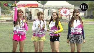 getlinkyoutube.com-[HD] 150821 MBC MUSIC 오마이걸 캐스트 [OH MY GIRL CAST] EP1