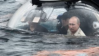 getlinkyoutube.com-Russian President Vladimir Putin pays visit to Crimea in a submarine