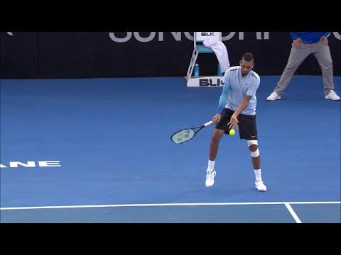 Near miss for Kyrios | Brisbane International 2018