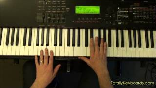 Cold As Ice Foreigner Keyboard Piano Lesson Sample