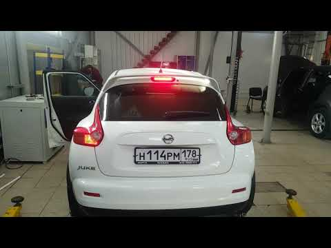 M&R лампы заднего хода в Nissan Juke