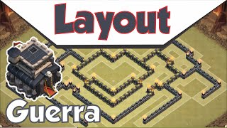 getlinkyoutube.com-o mais top layout cv9 de guerra - Clash of clans